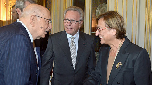100th Plenary Session of the Venice Commission: Deputy Secretary General received by Italian President of the Republic