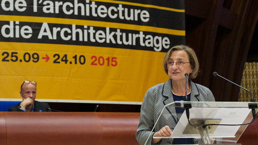 Deputy Secretary General praises architecture as belief in the future