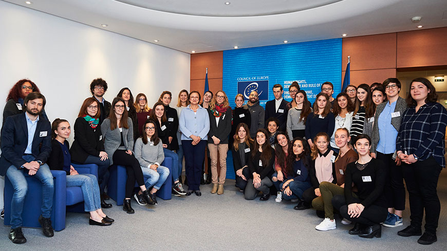 Battaini-Dragoni welcomes future graduates in international law and human rights