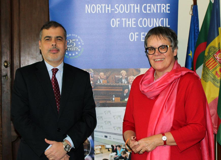 President of the  Parliamentary Assembly of the Council of Europe visited the North-South Centre