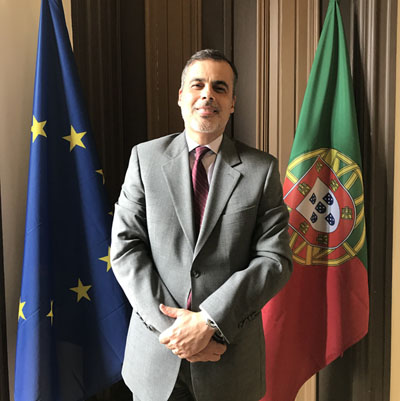 José Rui Velez Caroço is the new executive director of the North-South Centre
