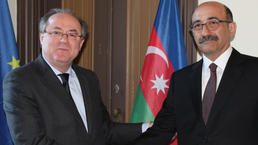 Minister of Culture and Tourism of Azerbaijan visits the North-South Centre