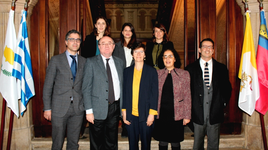 Union for the Mediterranean Deputy Secretary General, Laurence Païs, visits the North-South Centre