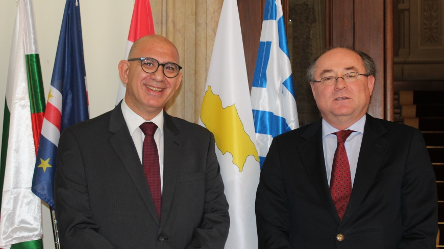 Cyprus ambassador visits the North-South Centre