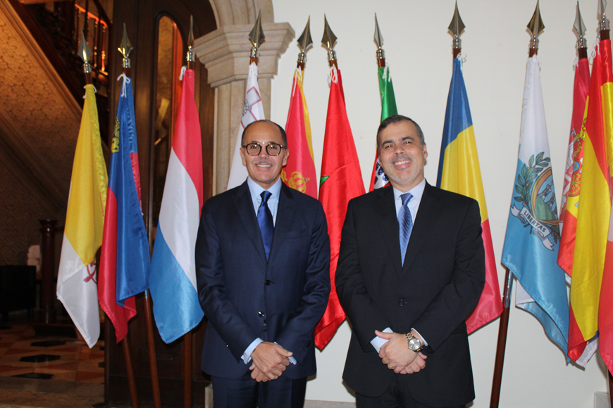 Ambassador of the Kingdom of Morocco visits the North-South Centre