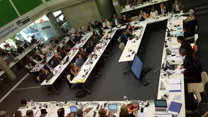 Exchange of views at the 37th meeting of the Joint Council on Youth of the Council of Europe