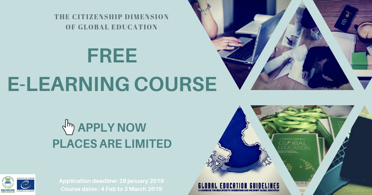 Free online course on Global Education: The Citizenship Dimension