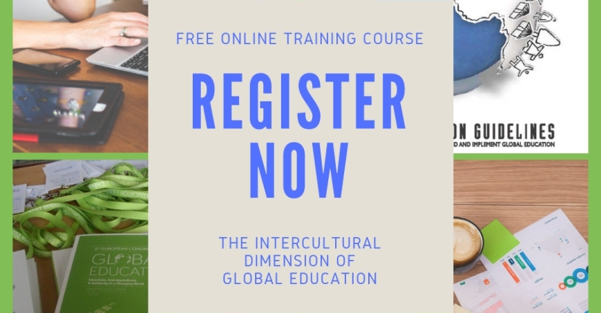 The North-South Centre of the Council of Europe launches new free online course Global Education: The Intercultural Dimension