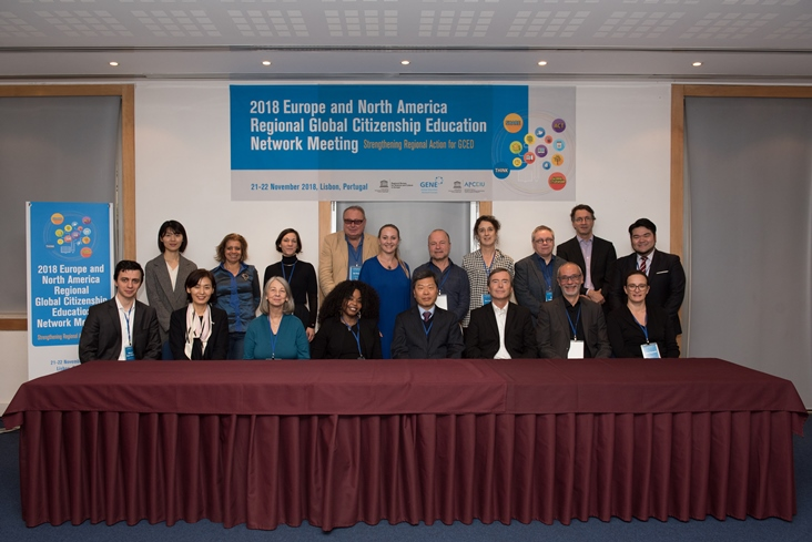 2018 Europe and North America Regional Global Citizenship Education Network Meeting