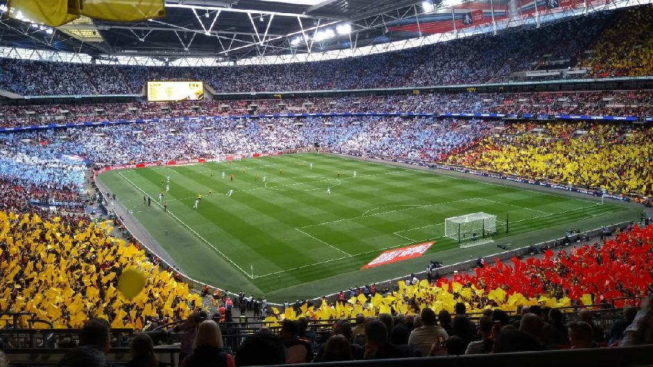 Peer-review exercise at Wembley, in the run-up to UEFA EURO 2020