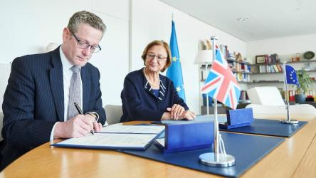 United Kingdom signs the Convention on safety, security and service in sport