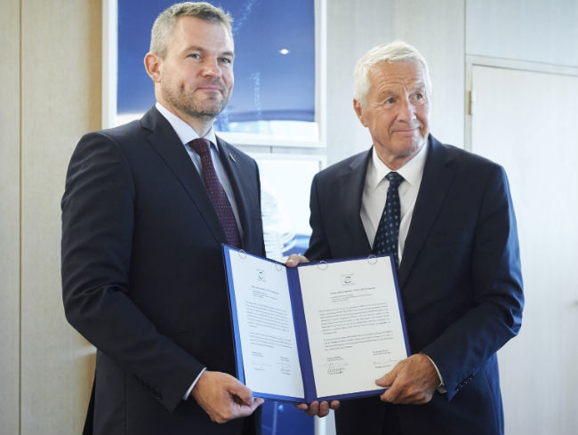 Slovak Republic signed the CETS 2015