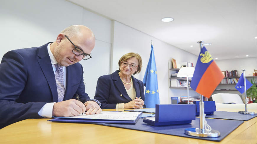 Liechtenstein signs the Convention on the Manipulation of Sports Competitions (the Macolin Convention)