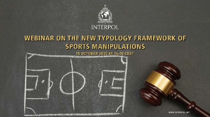 INTERPOL / CoE webinar on the new typology of sports manipulations