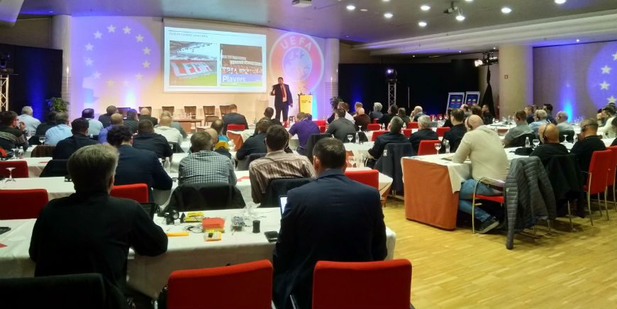 Council of Europe participates in 4th UEFA National Pyrotechnics Masterclass