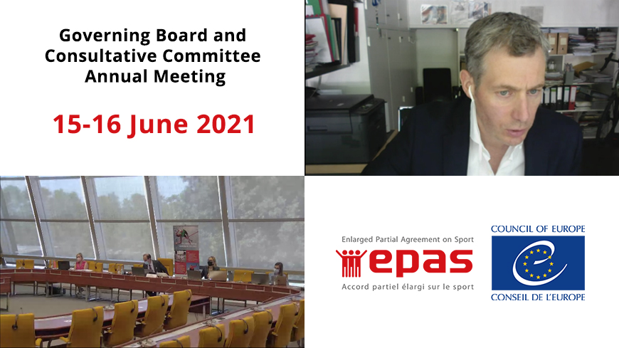 2021 - Annual meeting of the EPAS Governing Board and Consultative Committee