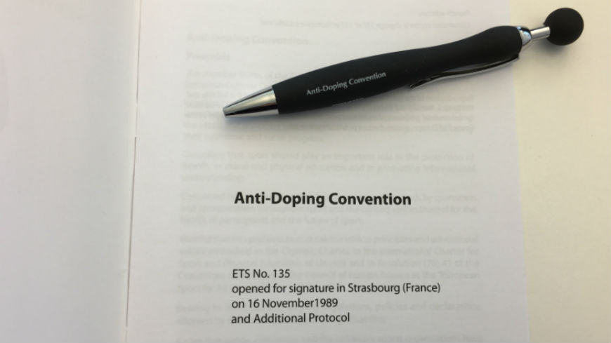 2nd meeting of the Ad hoc group on the Revision of the Anti-Doping Convention