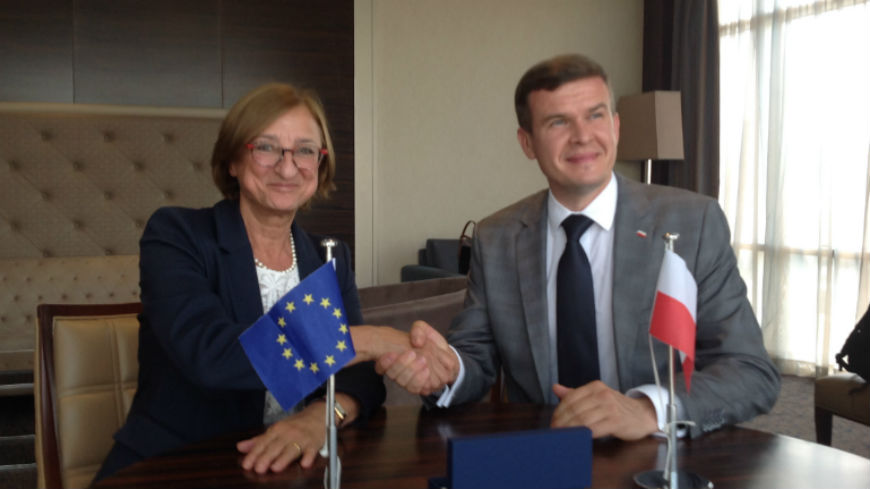 Poland makes voluntary contribution