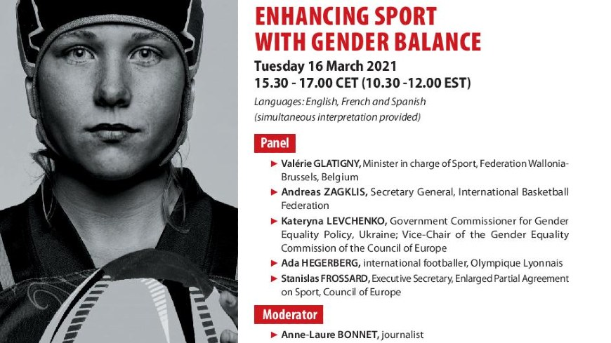 Enhancing Sport with gender balance:  EPAS event to raise awareness