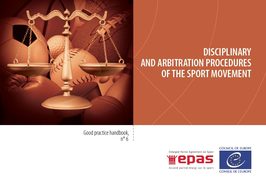 Disciplinary and arbitration procedures of the sport movement