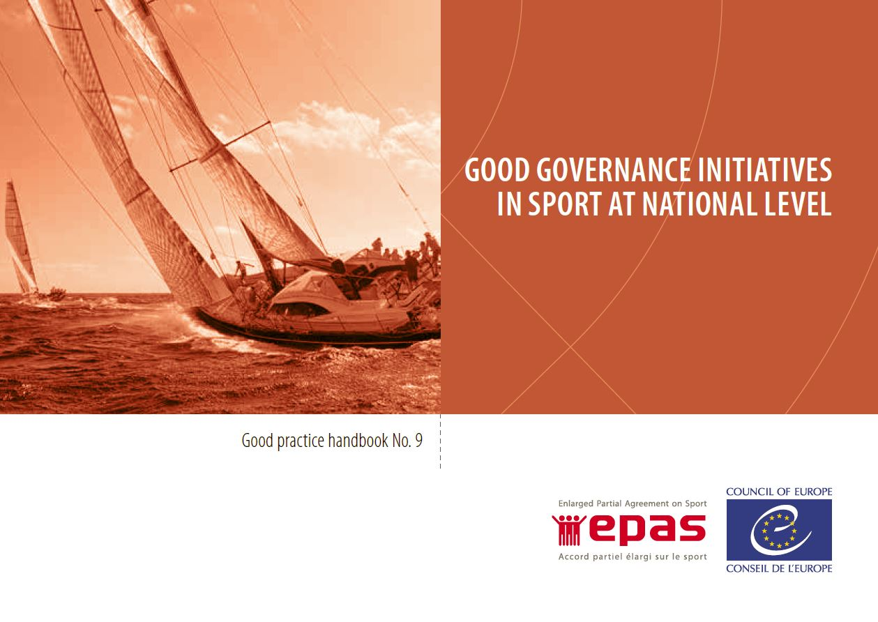Good governance initiatives in sport at national level