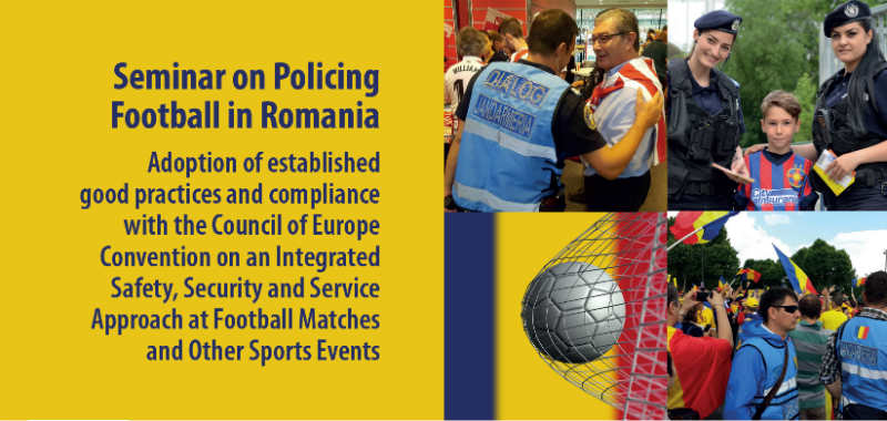 National Police Training event in Romania