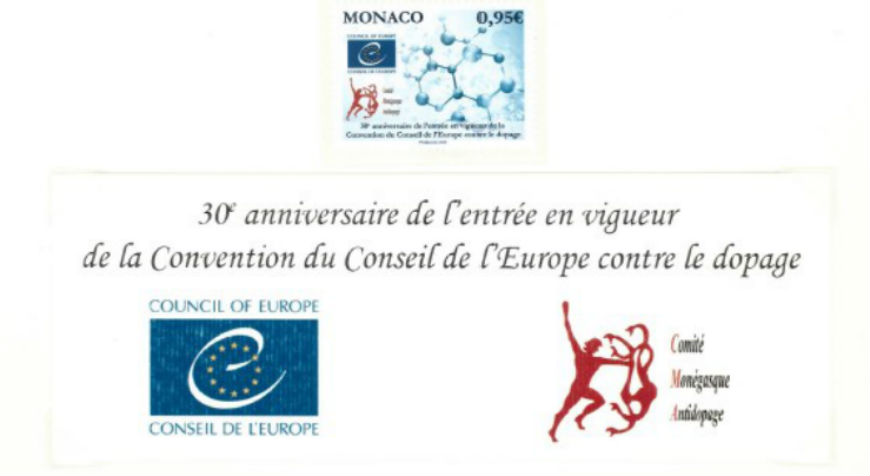 Monaco celebrates 30th anniversary of the CoE Anti-Doping Convention