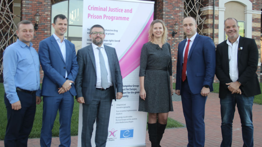 Pompidou Group workshops in Ukraine: Deputy Minister of Justice of Ukraine calls for health reforms in prisons