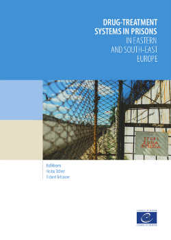 Drug-treatment systems in prisons in eastern and south-east europe