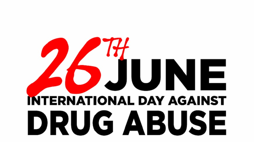 Imagini pentru international day against drug abuse 26 june