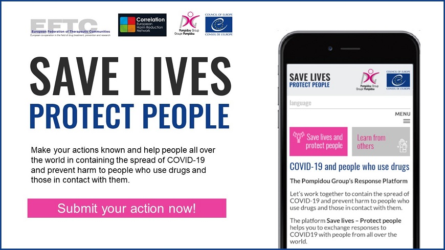 Launch of online platform #SaveLivesProtectPeople