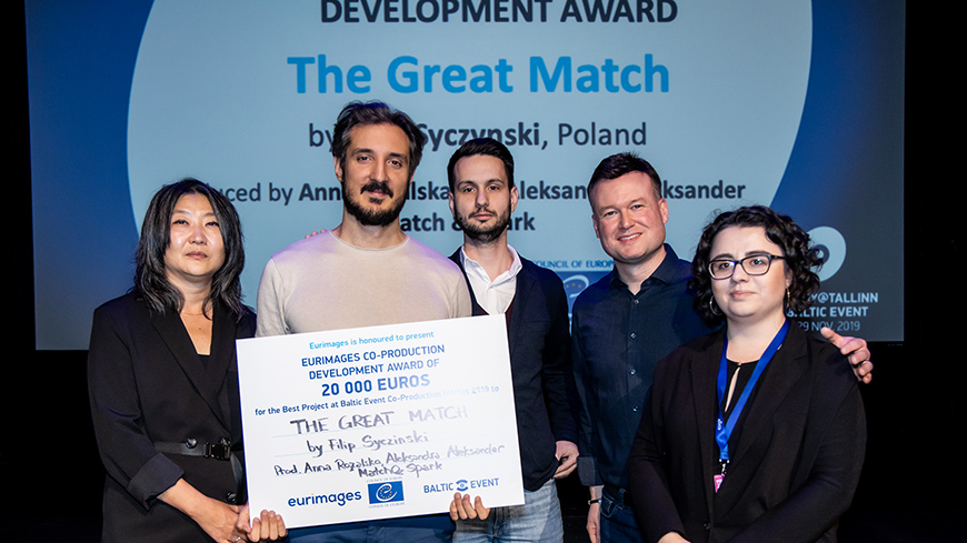 2019 Eurimages Co-production Development Awards