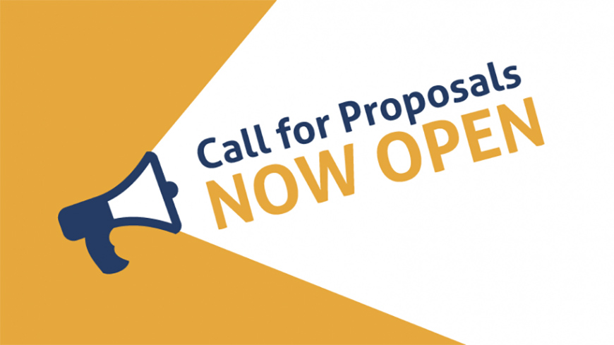 CALL FOR PROPOSALS: SAVE THE DATES!
