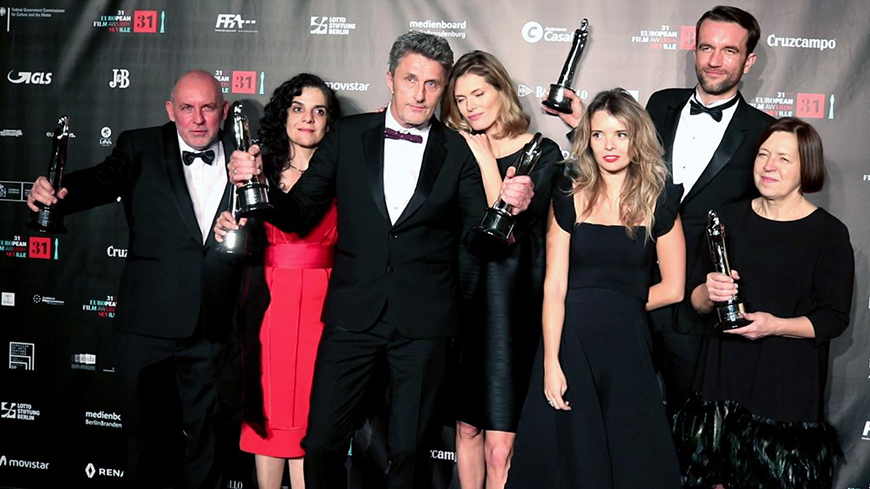 Cold War triumphs at the European Film Awards!