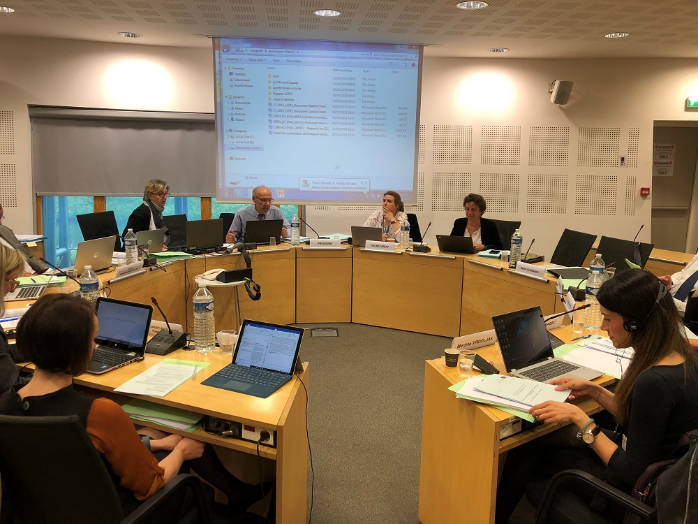 Meeting of the Working Group on Evaluation of Judicial Systems