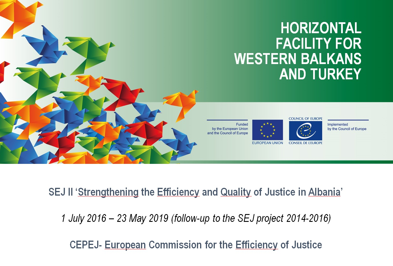 Third Meeting of the Horizontal Facility Steering Committee for Albania