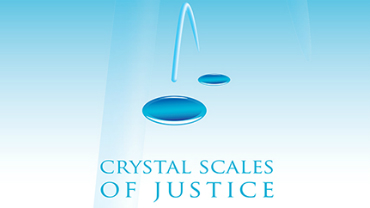 Crystal Scales of Justice
