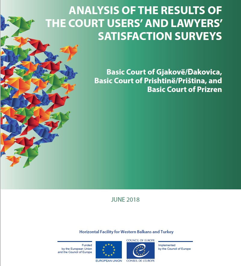 Fostering communications between courts and their users to improve the quality of justice in Kosovo*