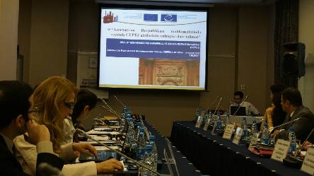 Pilot courts in Azerbaijan actively implement CEPEJ tools and share the lessons learned with the public, other courts and stakeholders