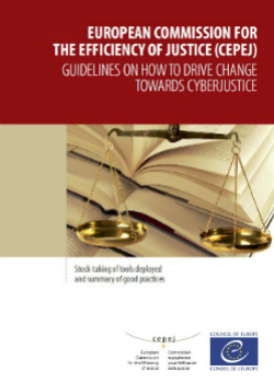 Guidelines on how to drive change towards Cyberjustice