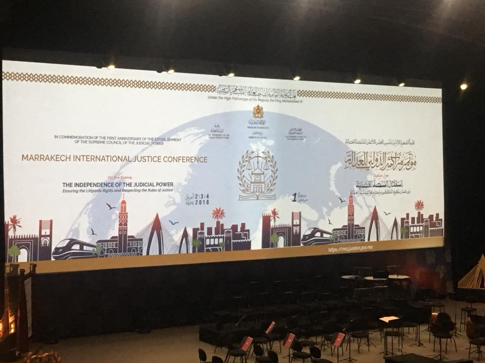 CEPEJ participated in the worldwide meeting of judicial systems in Marrakech, celebrating the first anniversary of the establishment of the Supreme Council of the Judicial Power of Morocco (SCJP)