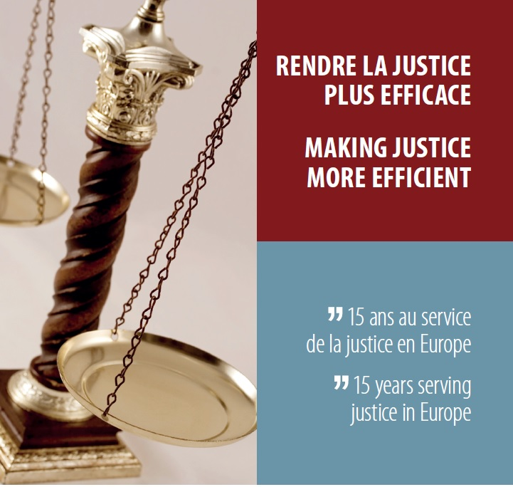 15 years of contributions from the European Commission for the Efficiency of Justice (CEPEJ) to the improvement of how judicial systems function in Europe