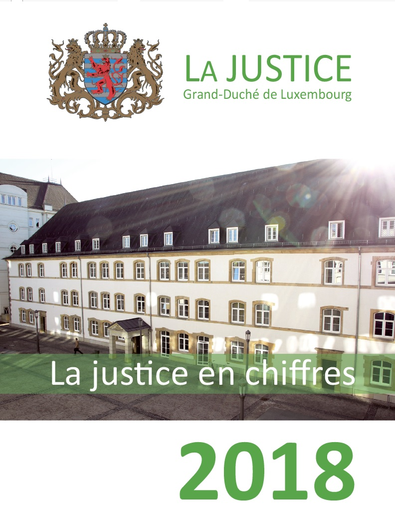 Luxembourg's judicial system: key figures