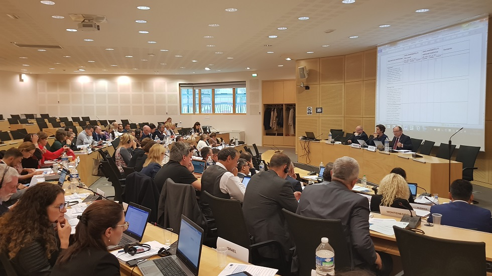 Meeting in Strasbourg with 50 CEPEJ Pilot courts on 10 October to trial and comment on the diverse ongoing work of the CEPEJ