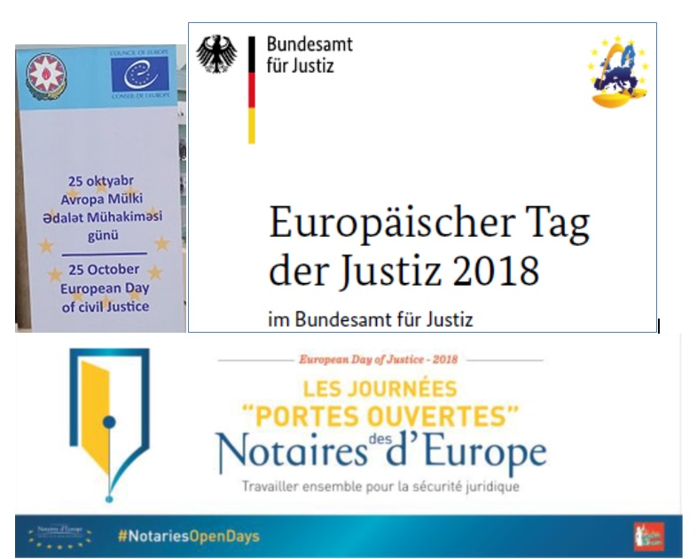 Justice professionals commit themselves to the European Day of Justice