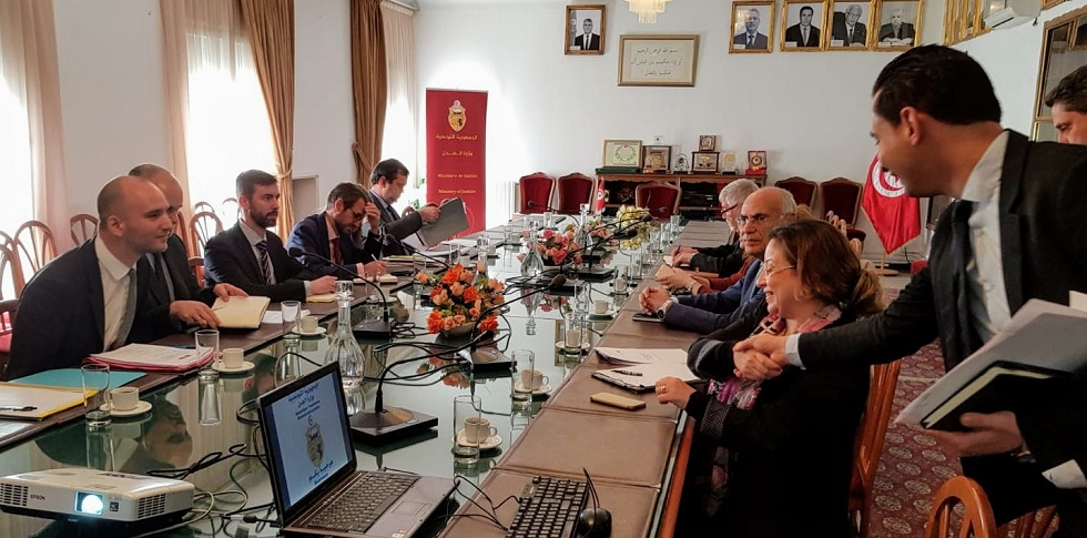 "CEPEJ first preparatory mission in Tunisia, in the framework of the Programme ""Improving the functioning, performance and access to justice in Tunisia"" (AP-JUST)"