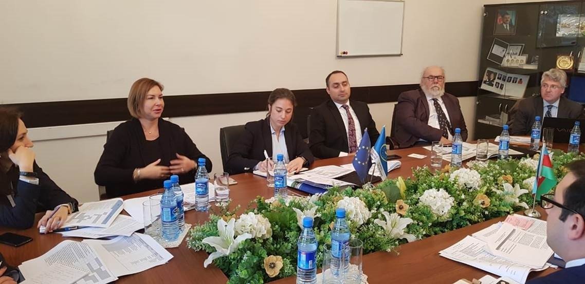 Inception Mission of the cooperation project « Strengthening the efficiency and quality of the judicial system in Azerbaijan »