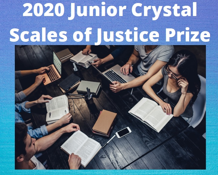 The CEPEJ awards the First Prize of the Crystal Scales of Justice Junior Edition