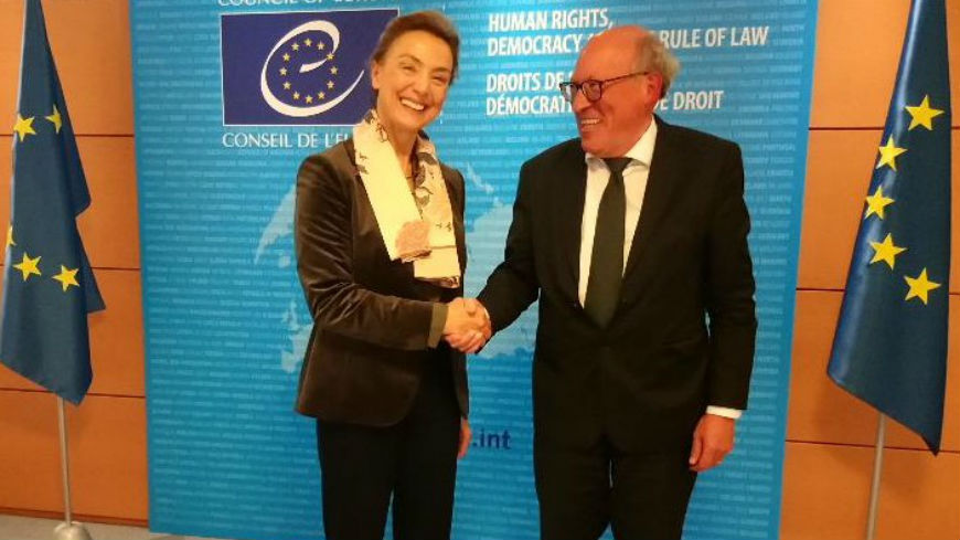 ECRI Chair meets Council of Europe's Secretary General