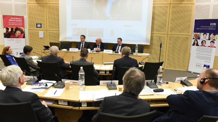 Council of Europe anti-racism Commission holds exchange of views with Judges of the European Court of Human Rights